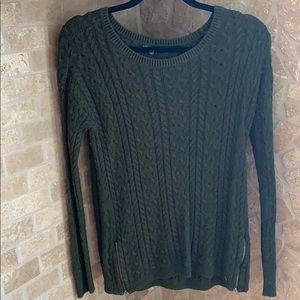 American Eagle Outfitters Sweaters - AE Knit Sweater with Zipper Detailing